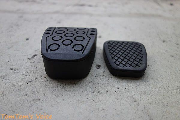 S660のクラッペダル改善、ハイリフトクラッチペダルカバーとノーマルの比較