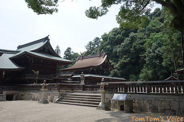 S660で行く桃太郎伝説を訪ねる弾丸ツアー、やっとのことで吉備津彦神社に到着