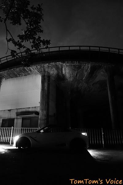 S660で行く桃太郎伝説を訪ねる弾丸ツアー、復路の神子畑の夜の様子