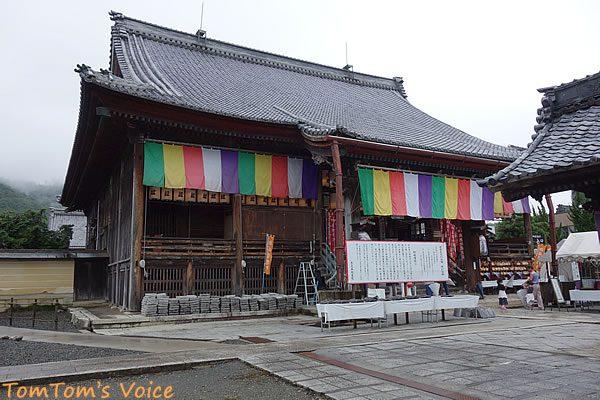 S660で行く 岐阜から湖北へ峠超え弾丸ツアー 木之本地蔵院の本堂