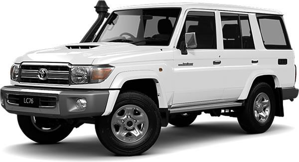 オーストラリア仕様のランクル70_GXLというモデル