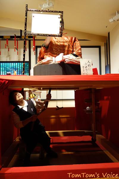 高山獅子会館のからくり人形