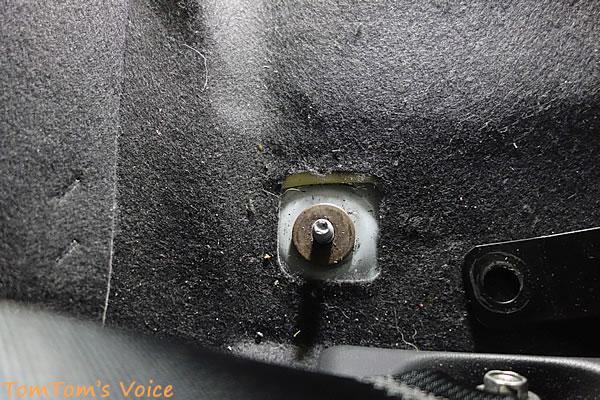 S660にBRIDE「A.i.R.」を取り付けた、さらに起こすため後ろにワッシャを1枚入れた