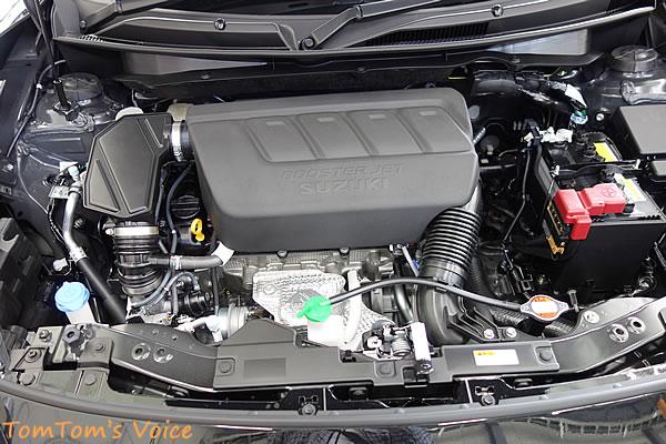 新型スイスポZC33S、エンジン全景