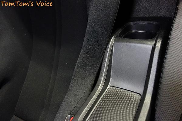 S660に「A.i.R.」取り付け、ドア側以外にもセンターコンソールに干渉している