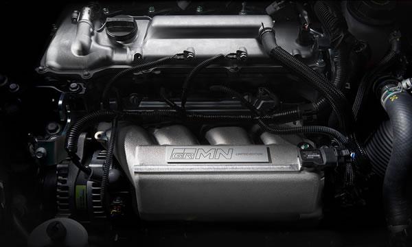 「GRMN Vitz」のエンジン画像