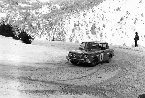 1966年のモンテカルロラリー、ルノー8ゴルティーニ