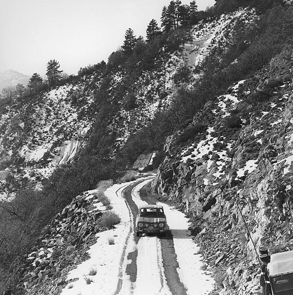 1966年のモンテカルロラリー、ルノー8ゴルティーニその2