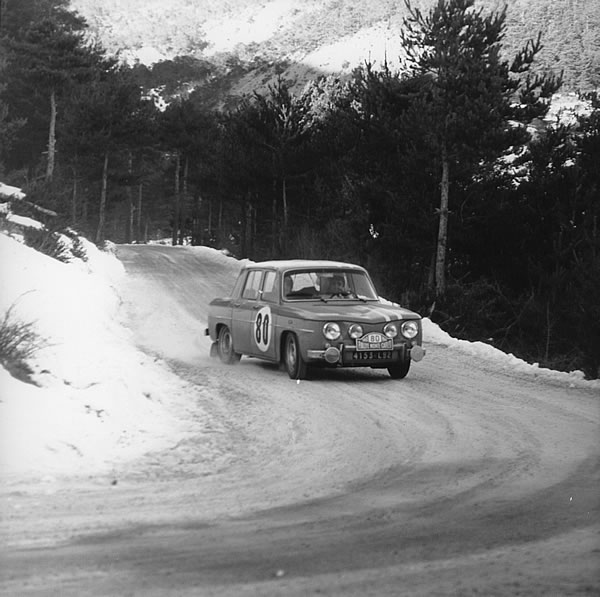 1968年のモンテカルロラリー、ルノー8ゴルティーニ