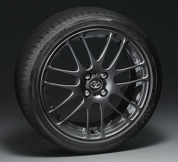 トヨタVitz GRMNのタイヤホイール