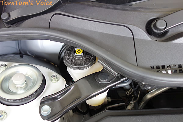 S660のブレーキマスターシリンダーのカップ部
