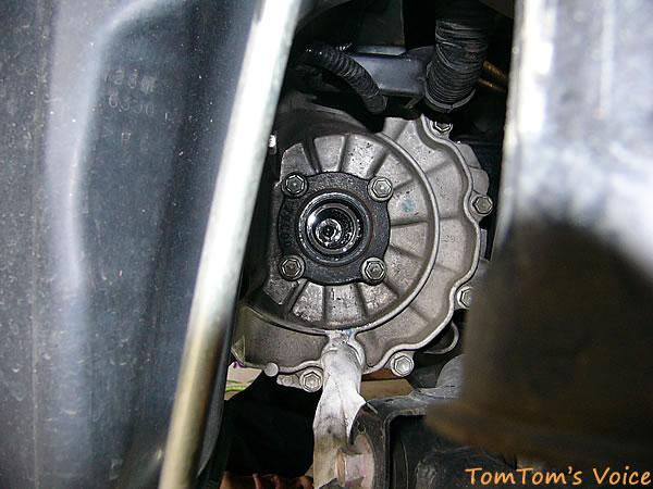 ZC31のデフ側ドライブシャフトの嵌合部