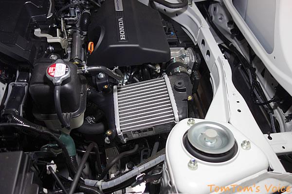 S660のインタークーラーはこんなにちっちゃい