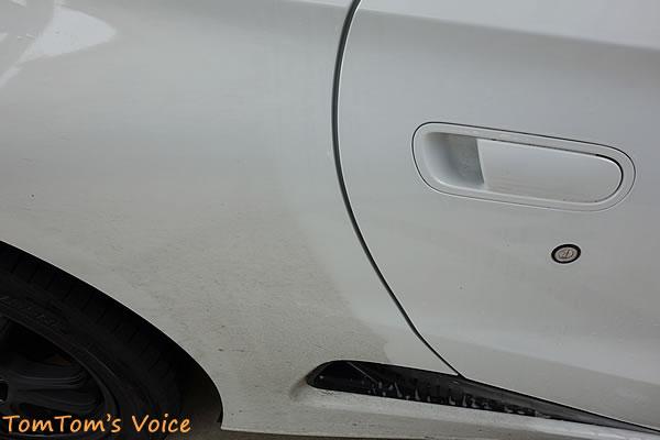 酷道走破でおおいにきちゃなくなってしまったS660水たまりを跳ね上げた跡の洗車前と洗車後