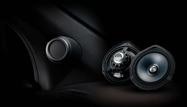 S660のオプションのスカイサウンドスピーカー、フロント用