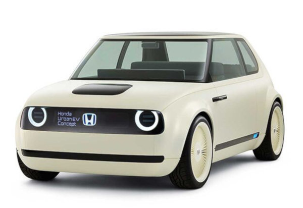 「Honda Urban EV Concept」のフロント