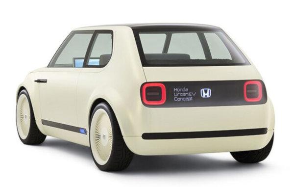 「Honda Urban EV Concept」のリア