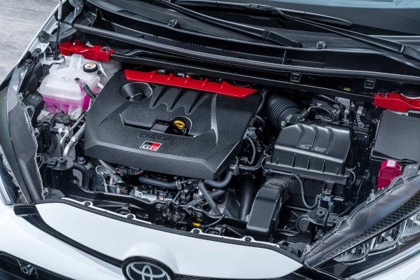 GR YARISのエンジン、今回の注目はなんと言ってもエンジンだろう強力だ