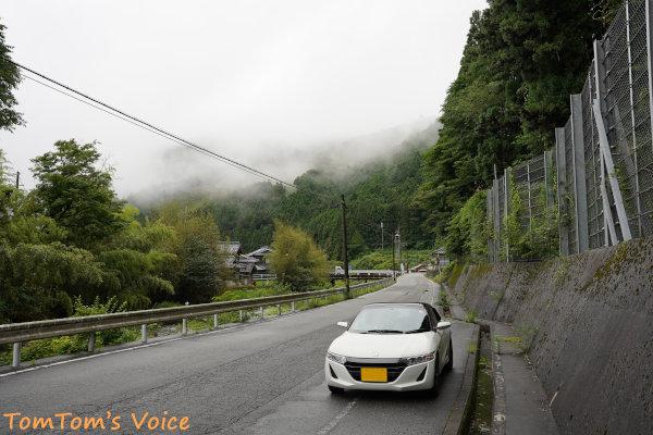 20200704兵庫県神崎郡神河町、生野町への分岐を過ぎたあたり