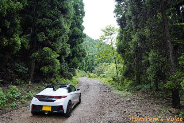 20200704兵庫県神崎郡神河町、新田ふるさとむらを過ぎるとダートになる