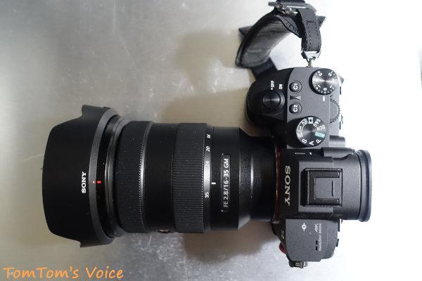 カメラはα7M3、レンズはSEL1635GMが好き